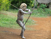 Mudman Papua — Stock Photo