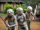 Mudman Papua — Stock Photo