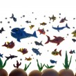 Plasticine fishes — Stock Photo