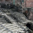 Roman theater ruins in Catania, — Stock Photo #9270542