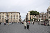 Etnea street in Catania — Stock Photo