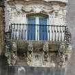 Baroque balcony - Stock Photo