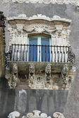 Baroque balcony — Stock Photo