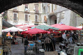 Old fish market of Catania — Stock Photo