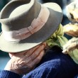 Elder hat — Stock Photo