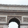 Arc de Triomphe, Paris , France — Stock Photo