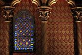Saint chapelle detalhe — Foto Stock