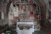 Ancient frescos — Stock Photo