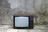 Old Television — Stock Photo
