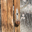 Old furniture detail — Stock Photo