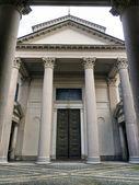 Neoclassical architecture in Novara — Stock Photo