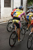 Young cycling competitors — Stock Photo
