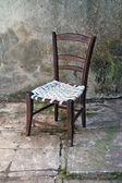 Vintage chair — Stock Photo