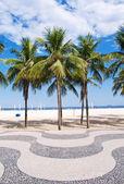 Playa de copacabana. río de janeiro — Foto de Stock