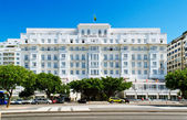 View of hotel Copacabana Palace in Rio de Janeiro — Stock Photo