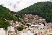 Favela in Rio de Janeiro — Stockfoto