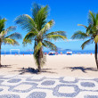 Ipanema beach - Stock Photo