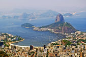 The mountain Sugar Loaf in Rio de Janeiro — Stock Photo