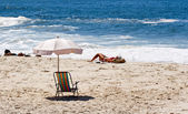 Strand von Ipanema in Rio De Janeiro — Stockfoto
