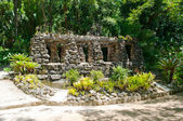 Grotto Karl Glasl in Botanical Garden in Rio de Janeiro — Stock Photo