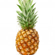 Stock Photo: Fresh pineapple on white background