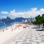 Ipanema beach. Rio de Janeiro — Stock Photo #9950227