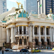 The Municipal Theatre in Rio de Janeiro - Stock Photo