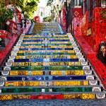 The stairway Selaron in Rio de Janeiro — Stock Photo #9950289