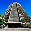 Metropolitan Cathedral in Rio de Janeiro - Stock Photo