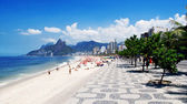 Ipanema beach. Rio de Janeiro — Stock Photo