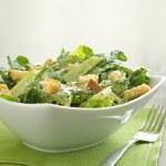 Caesar salad with coypspace — Stock Photo #8629538