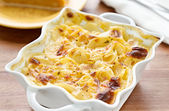 Scalloped potatoes — Stock Photo