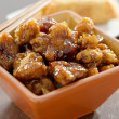 General tso's chicken in a bowl. — Stock Photo #8630121