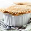 Beef pot pie closeup — Stock Photo