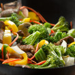 Wok stir fry — Stock Photo #8637044