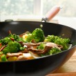 Wok stir fry — Stock Photo #8637215