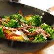 Stock Photo: Wok stir fry