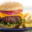 Hamburger meal - Photo