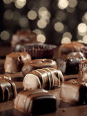 Assorted chocolates. — Stock Photo