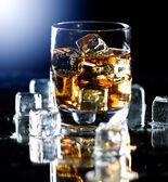 Highball whiskey glass — Stock Photo