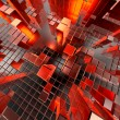 Stock Photo: Abstract Technology Cubes