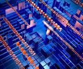 Ilustração abstrata tecnologia — Foto Stock