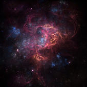 Deep space nebula — Stock Photo