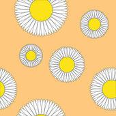 Floral pattern, calligraphic design set — Stock Vector