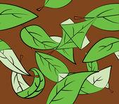 Bladeren — Stockvector