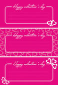 Valentine greetings card — Stockvector