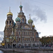 Church of the Savior on bloods, St Petersburg Russia — Stock Photo