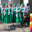 Russian folk chorus — Stock Photo