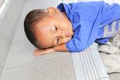 A cool kid to sleep — Stock Photo