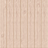 Vector realistic wood texture background — Stock Vector
